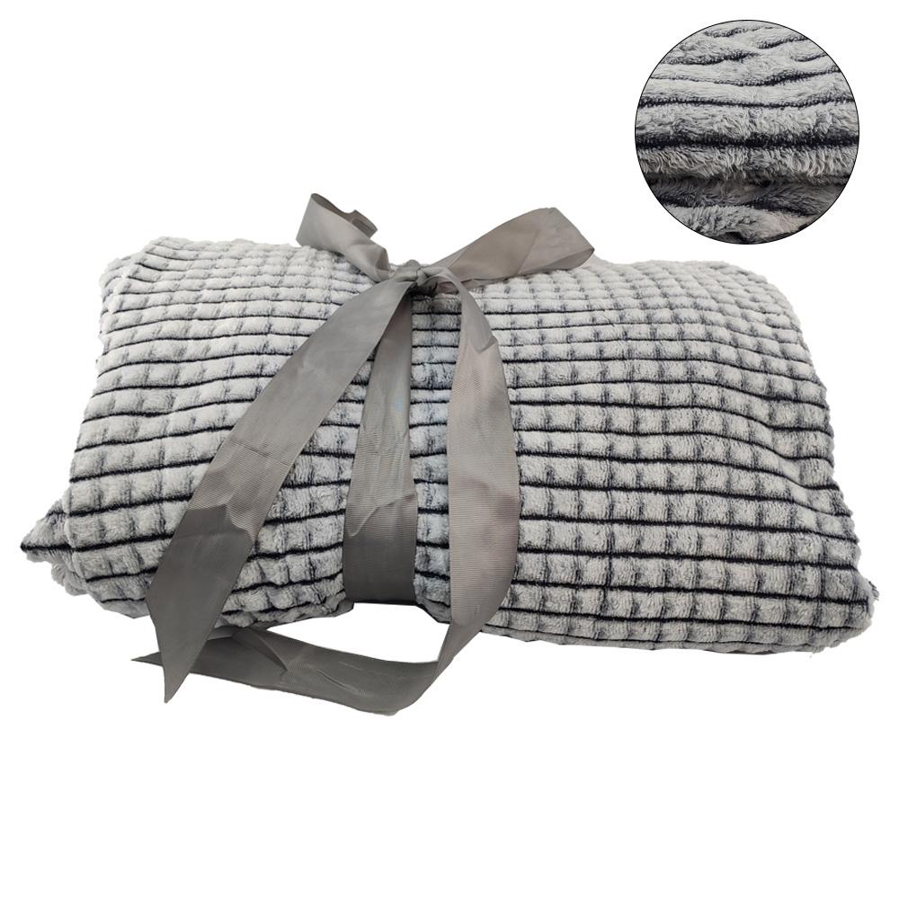 Cobertor Manta Queen Aveludado Microfibra Extra Macio Felpudo