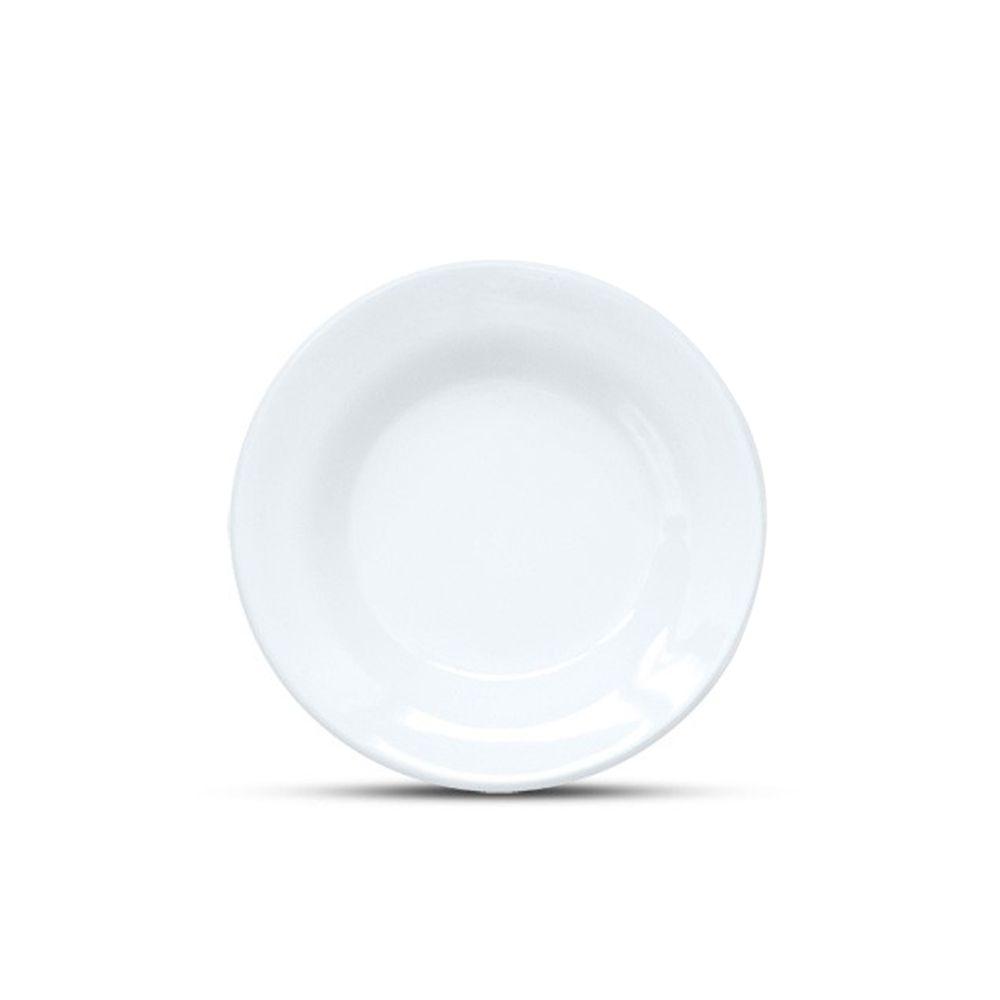Conjunto Pratos De Sobremesa 06 Un Cozinha Ceramica 19cm Doce Restaurante Bar