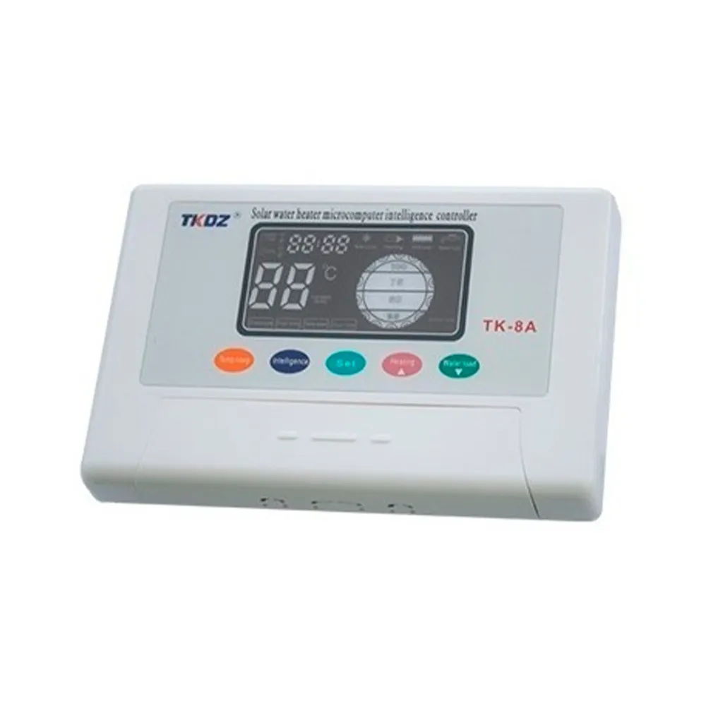 Controlador Inteligente Solar Aquecedor de água Nivel Temperatura Bomba Caixa d'agua Piscina