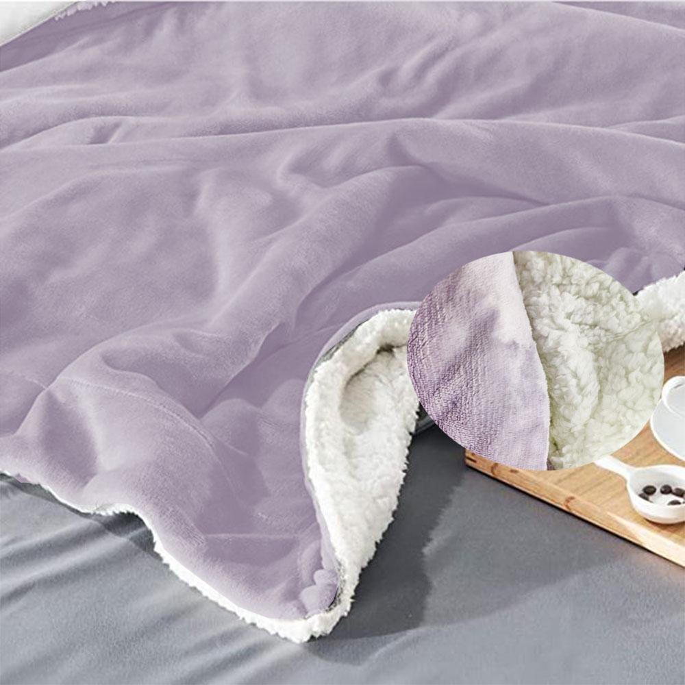 Cobertor Edredom King Manta Extra Macia Microfibra Dupla Face Reversa Carneiro