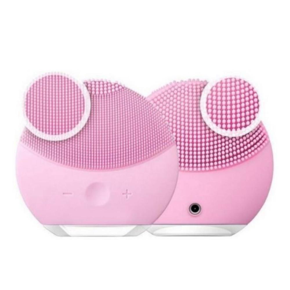Esponja Massagedora Eletrica Limpeza Facial Mini USB relaxamento