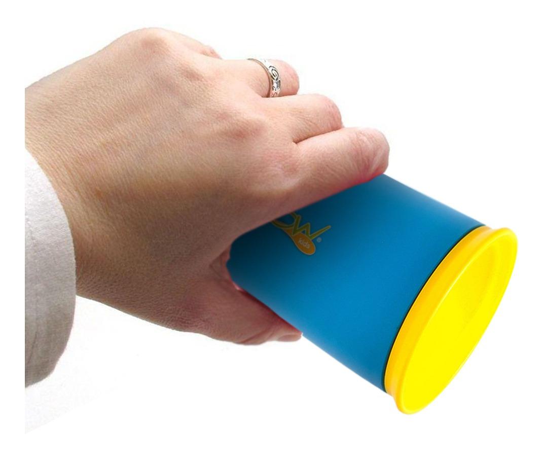 Copo Magico 360 Antivazamento bebe infantil crianças Treinamento nao Derrama aprendizado kit 2 unidades