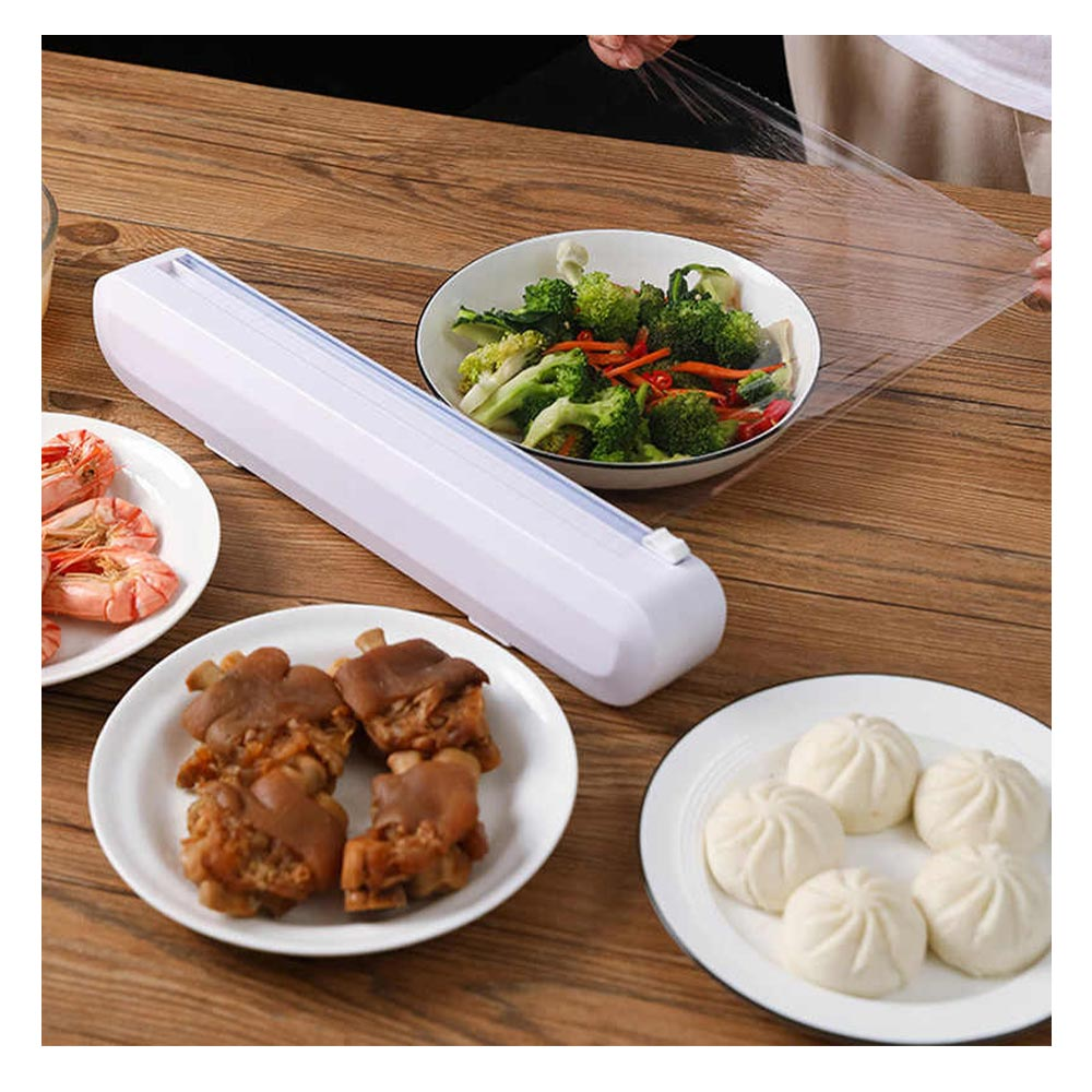 Cortador Filme Plastico Manual Alimento Embalagem Produto Cozinha