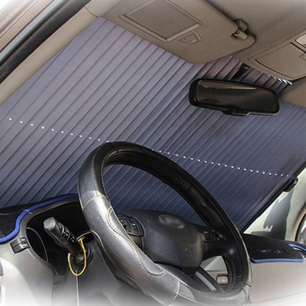 Cortina Janela Carro Parasol Retratil Automotivo Proteçao Solar Veiculo