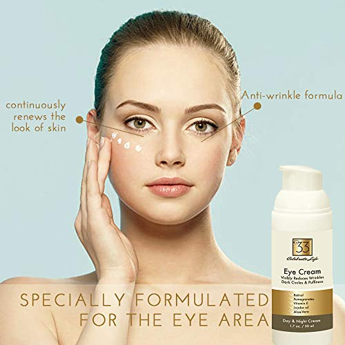 Creme Anti Rugas Eye cream olho retinol vitamina E aloe vera hidratante