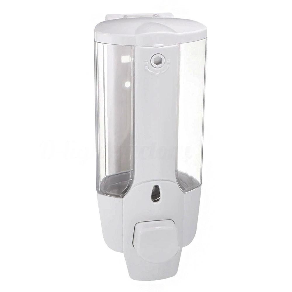Dispenser Sabonete Líquido Alcool Gel Shampoo Sabao Parede Banheiro Reservatorio Restaurante Hotel