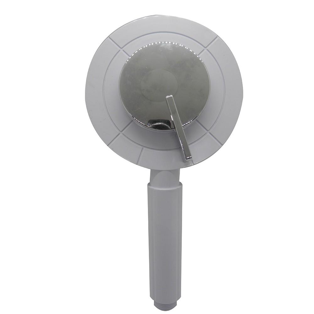 Ducha Mao Cromada 3 Funções Flexivel Chuveiro Banheiro Mangueira Articulada Higienica