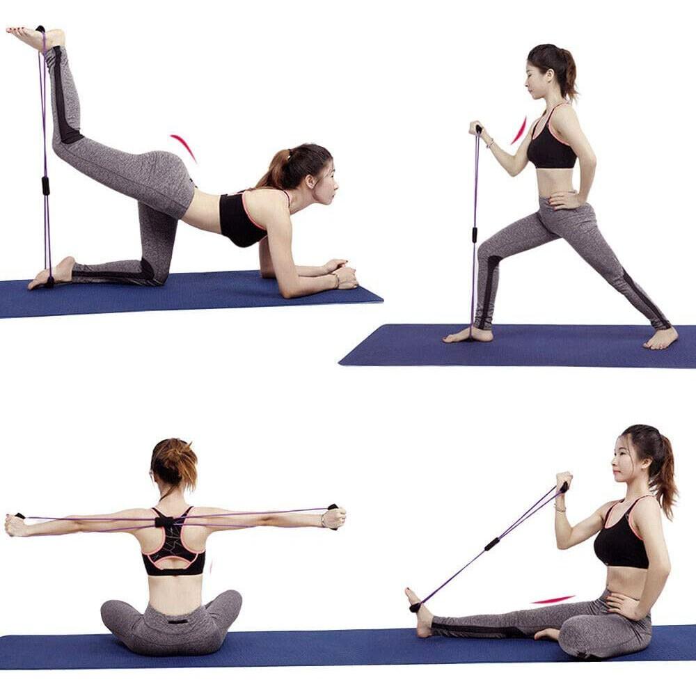 Elastico Extensor Exercicio Academia Casa Abdominal Yoga Ginastica Fitness Pilates Multifuncional