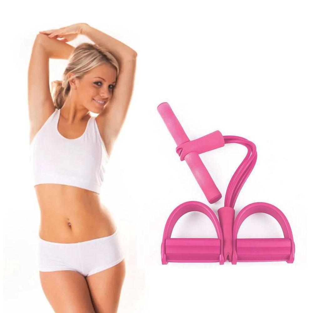 Elastico Extensor exercicio academia musculação fitness Ginastica Pilates Abdominal