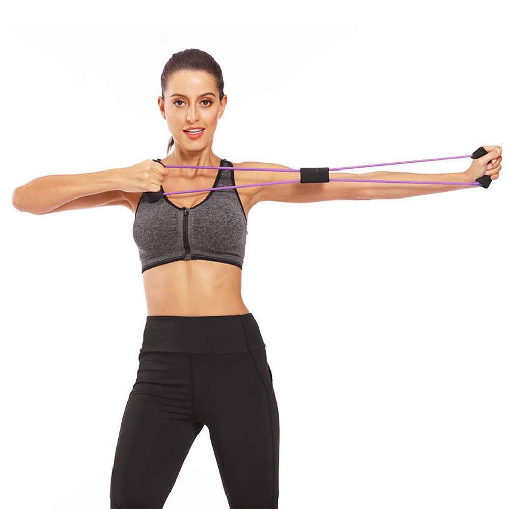 Elastico Extensor Exercicio Casa Abdominal Academia Multifuncional Yoga Ginastica Fitness Pilates