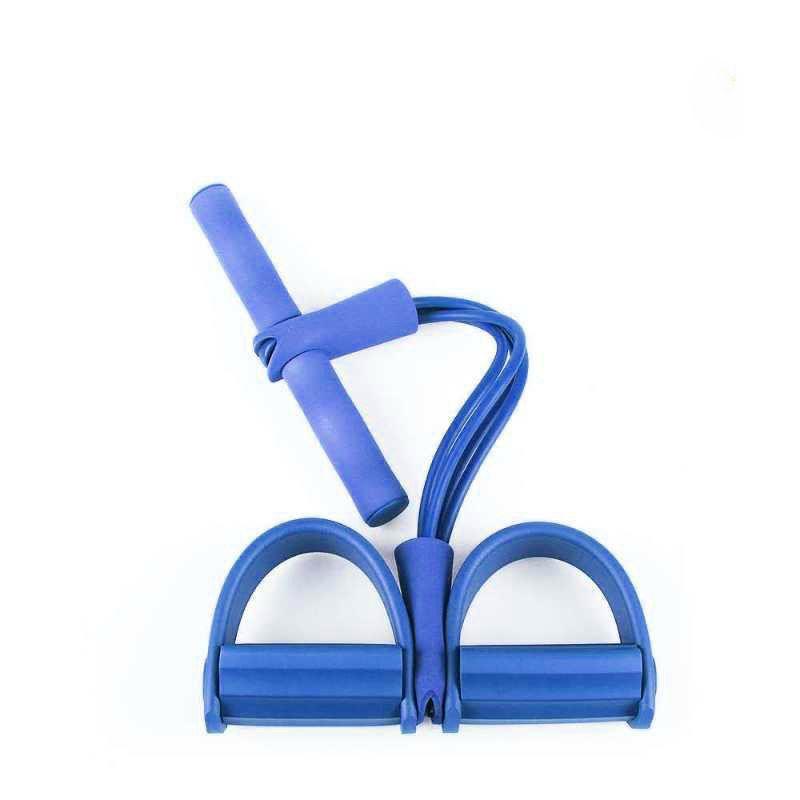 Elastico Extensor Tonificação abdominal Pilates Academia em Casa exercicio Puxe Corda Fit Intensidade