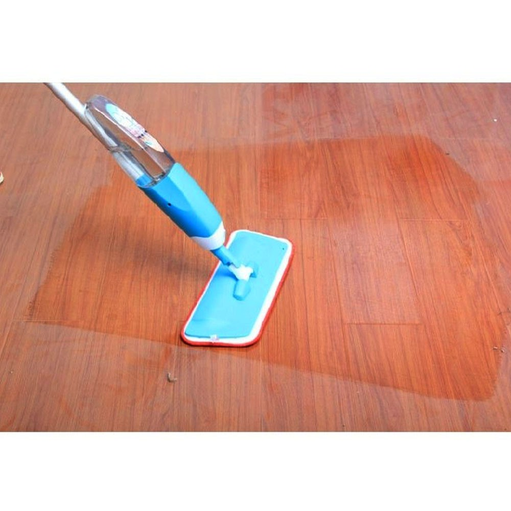 Esfregão Spray Mop Magico Limpeza Casa Vassoura Limpa Chao Reservatorio Borrifador