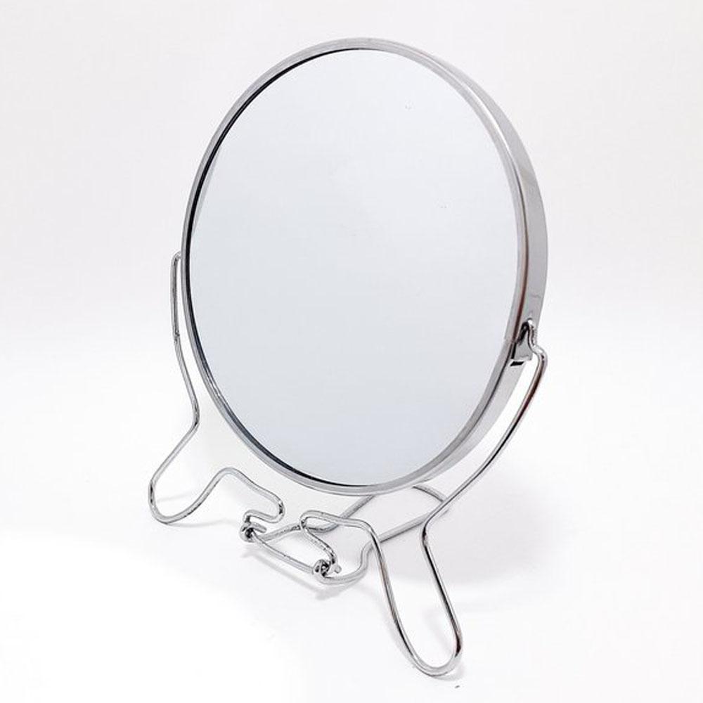 Espelho de Maquiagem Dupla Face com Aumento 8 Polegadas Mulher Beleza