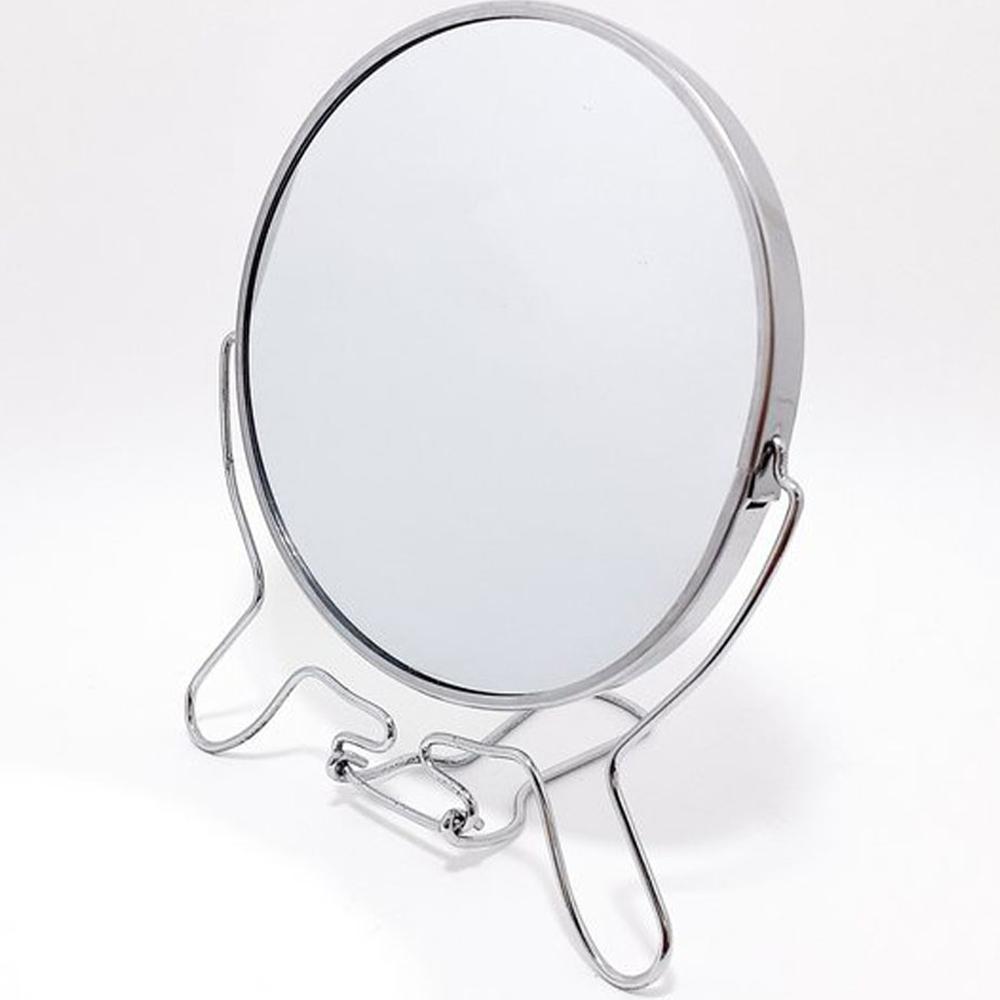 Espelho de Mesa Maquiagem Dupla Face com Aumento 9 Polegadas Feminino Beleza