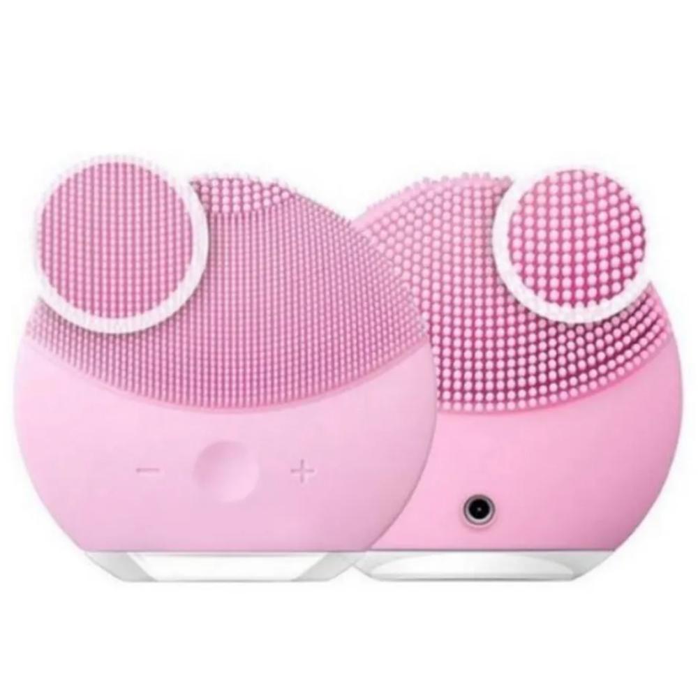 Esponja Massagedora Eletrica Limpeza Facial Mini USB Kit 10 Uni relaxamento
