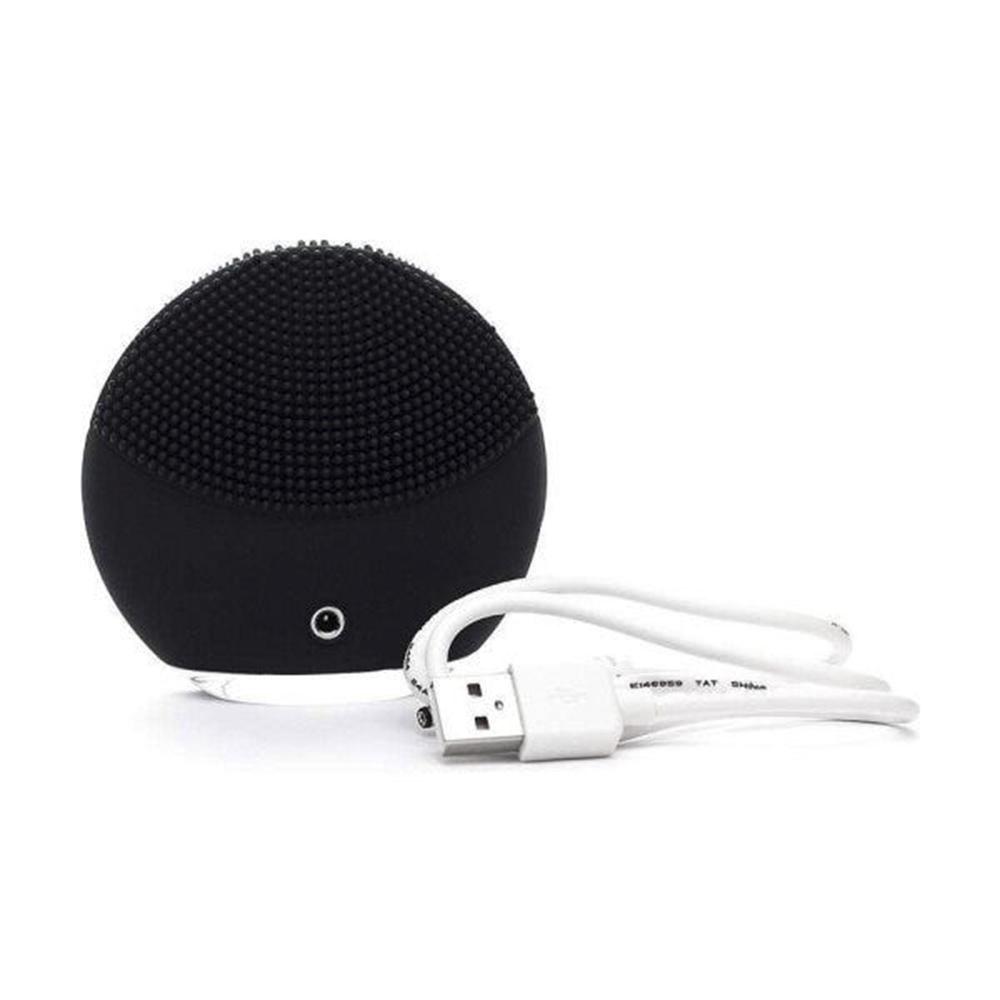 Esponja Massagedora Eletrica Limpeza Facial Mini USB relaxamento tratamento de pele