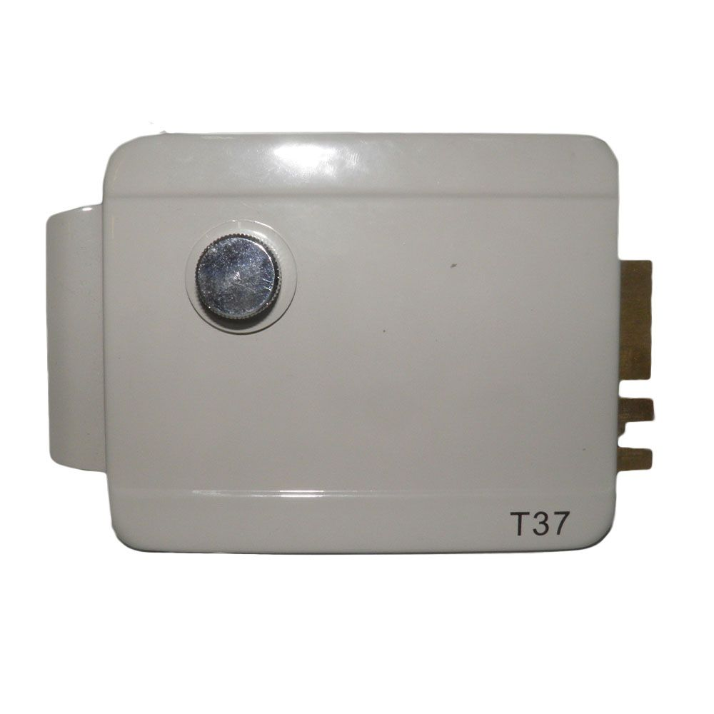 Fechadura Eletronica Portao Trava Eletrica Manual Portas Casa