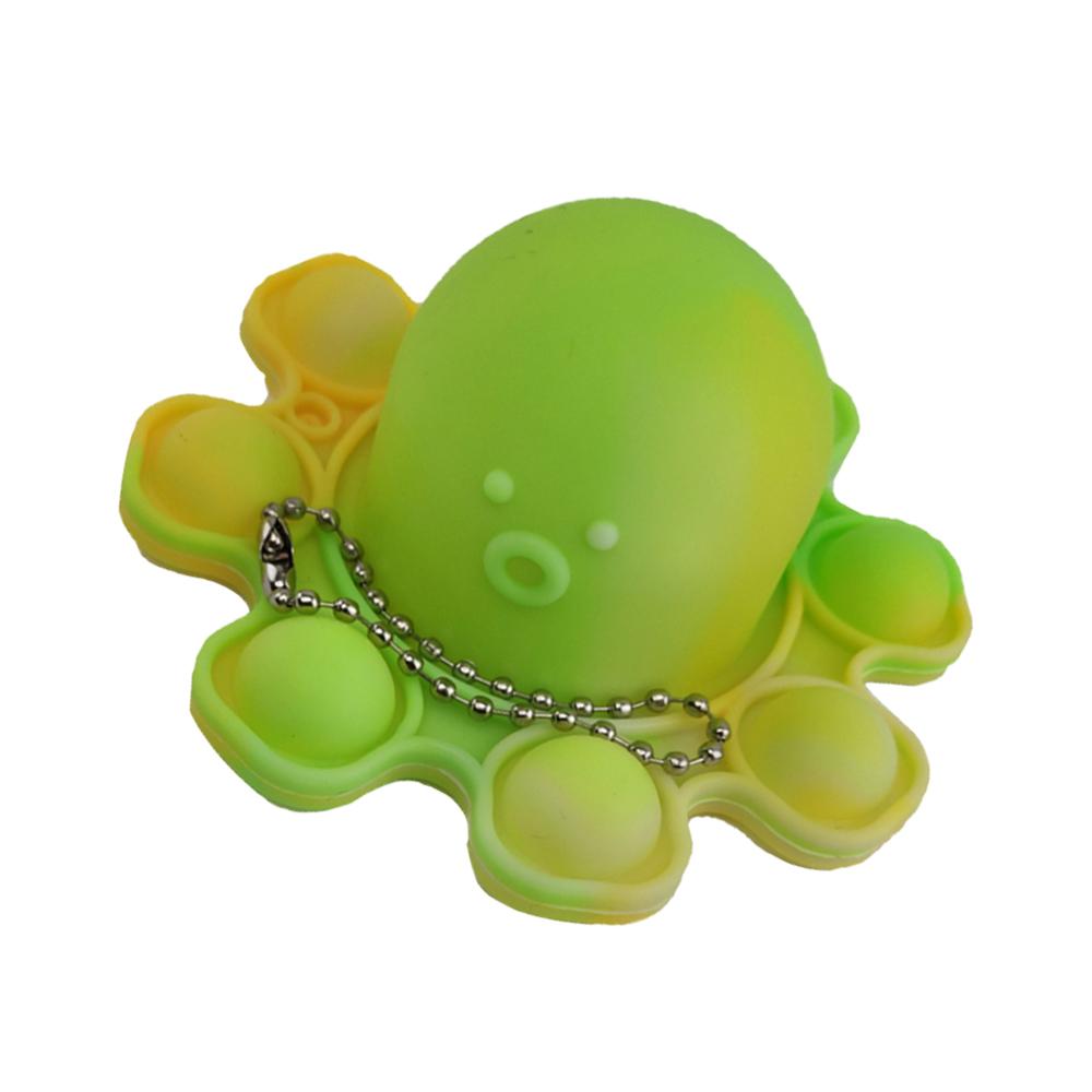 Fidget Polvo Pop It Toy Chaveiro Anti Estresse Ansiedade Sensorial Relaxa Mente
