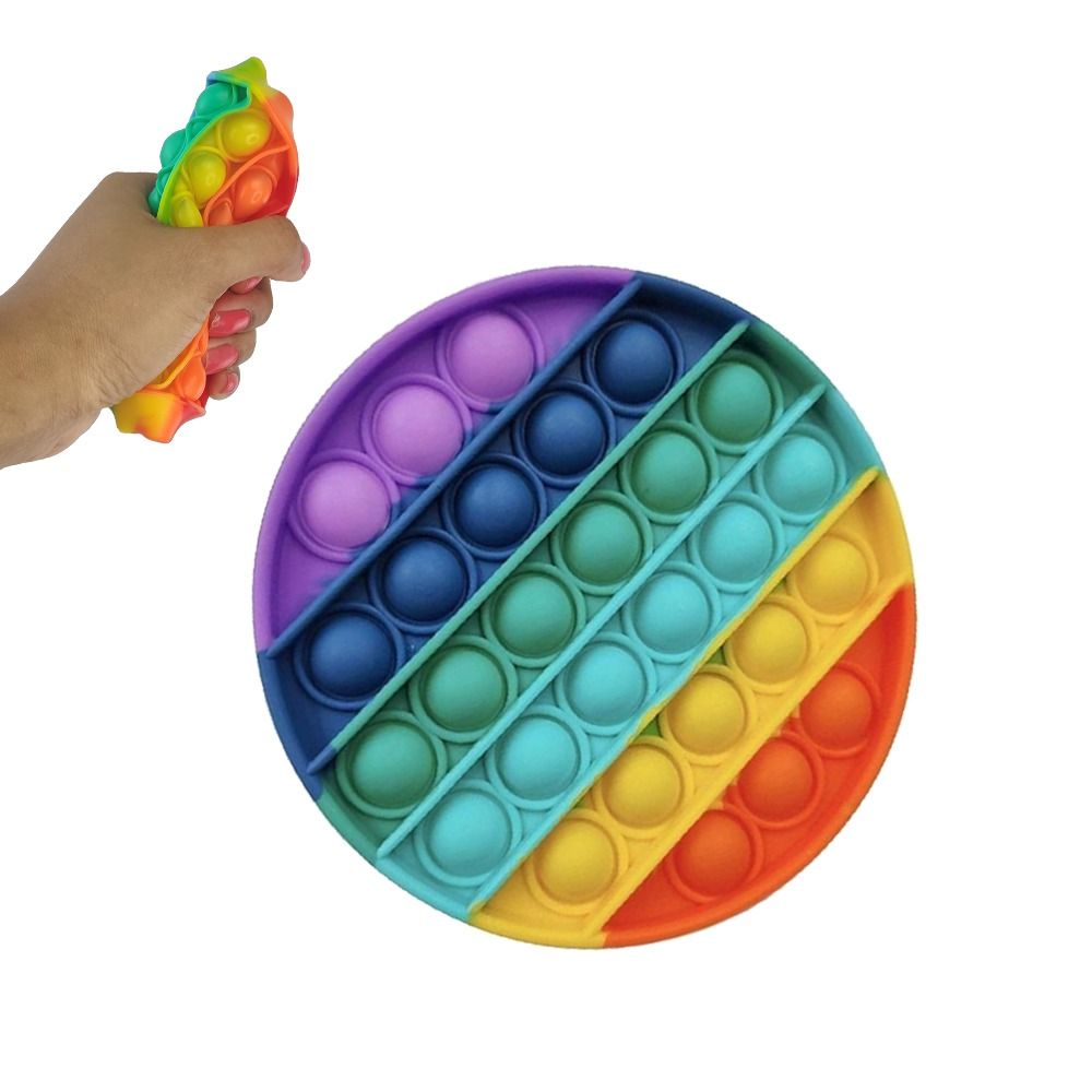 Fidget Pop it Kit 3 uni Anti estresse Sensorial Ansiedade Relaxante