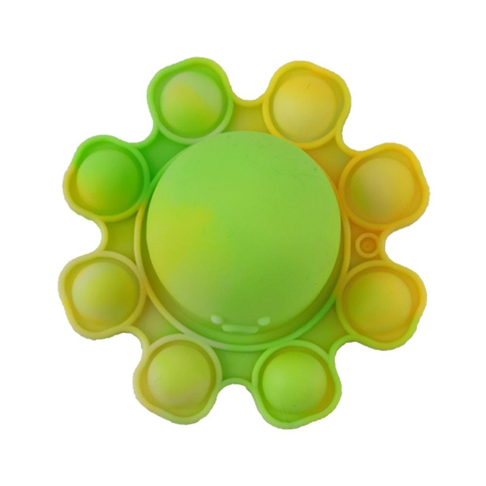 Fidget Pop It Polvo Chaveiro Alivia Estresse Ansiedade Kit 2 Uni Sensorial Relaxa