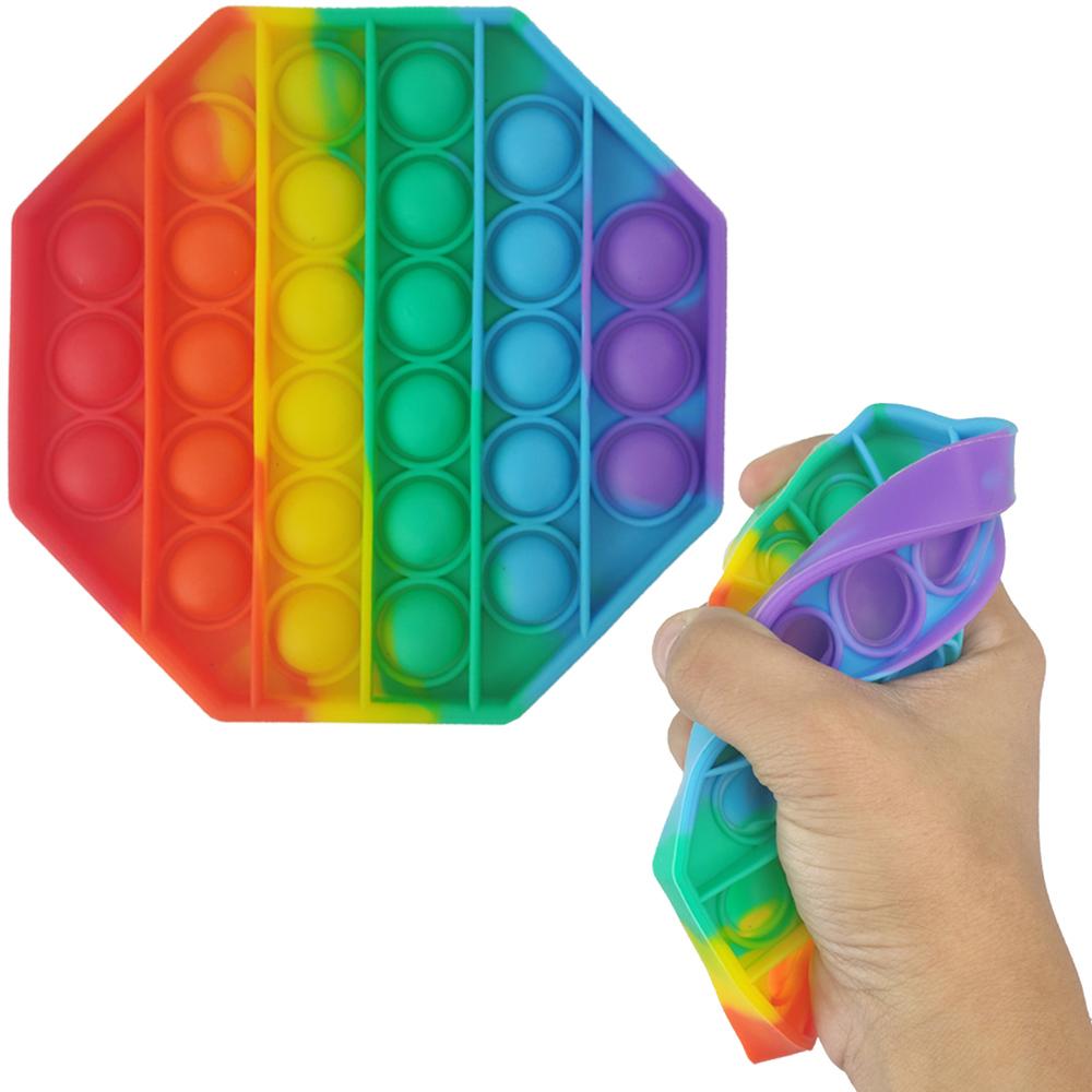 Fidget Pop it Relaxamento Ansiedade Sensorial Anti estresse Colorido