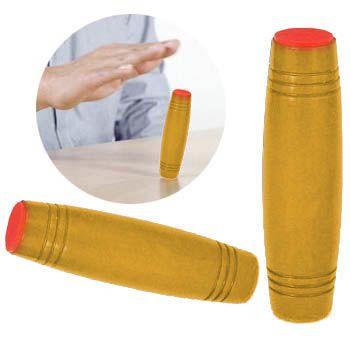 Fidget Spinner Mokuru De Madeira Anti Estresse Ansiedade Hand Roller Brinquedo (bsl-gira-4)