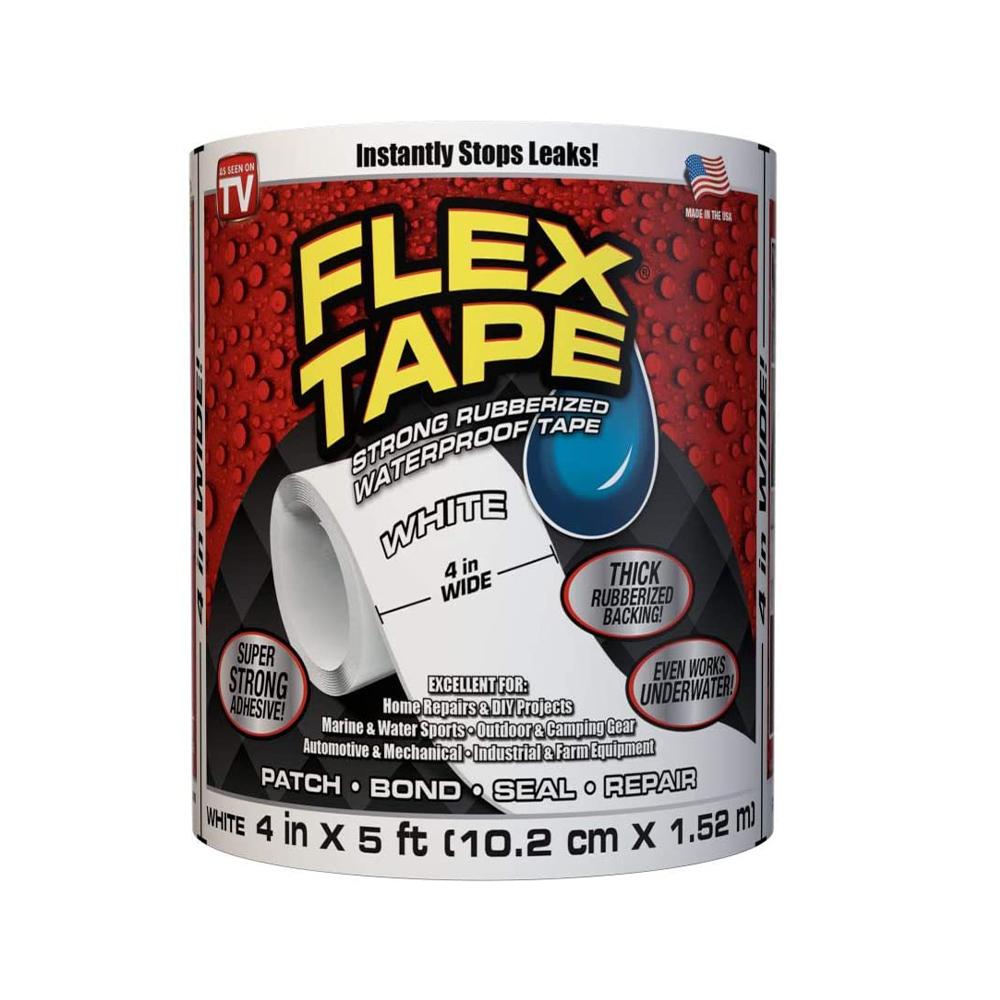 Fita Adesiva Flex Tape A Prova D'agua Cola Tudo Piscinas vazamentos
