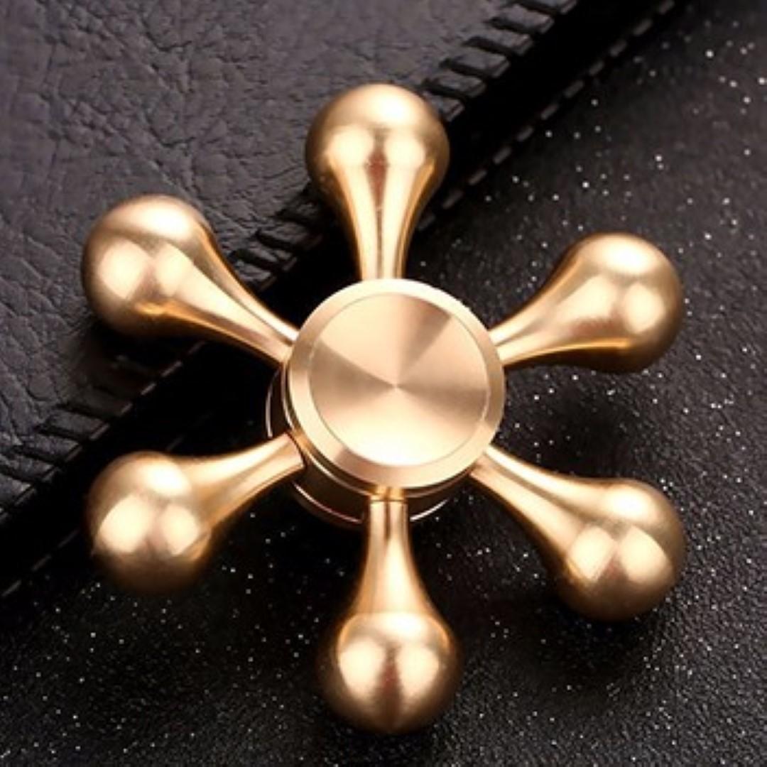 Hand Spinner Fidget De Metal Desmontavel Leme Ansiedade Estresse (BSL-GIRA-9)
