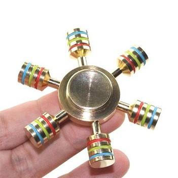 Hand Spinner Fidget Metal Leme Timao Ansiedade Estresse (BSL-GIRA-8)