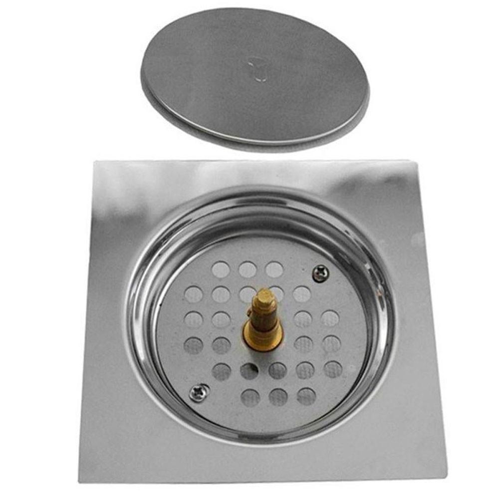 Kit 16 Ralos Click Inteligente Aço Inox Banheiros Lavabos Casa 10x10