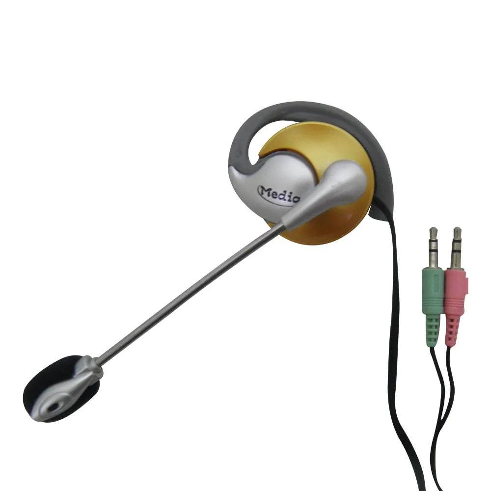 Kit 20 Unidades Fone de ouvido com microfone P2 Home Office Computador Notebook Jogos Wathsapp Headset