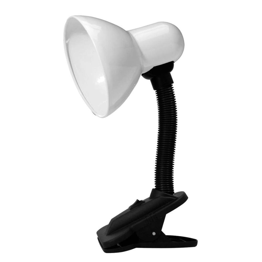 Kit 20 unidades Luminaria De Mesa Articulavel Com Garra Presilha Sala Trabalho Abajur Escritorio