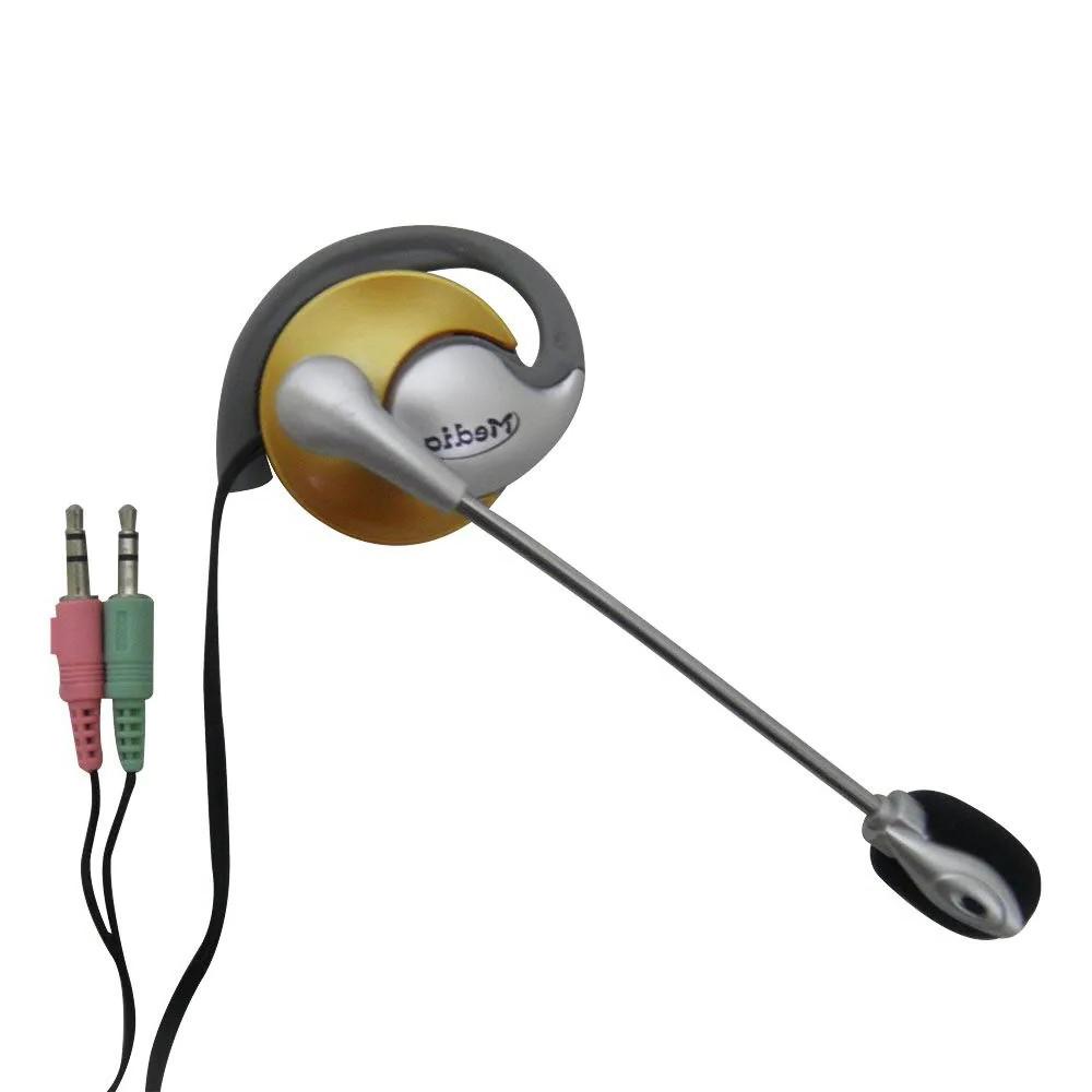 Kit 24 Unidades Fone de ouvido com microfone P2 Home Office Computador Notebook Jogos Wathsapp Headset