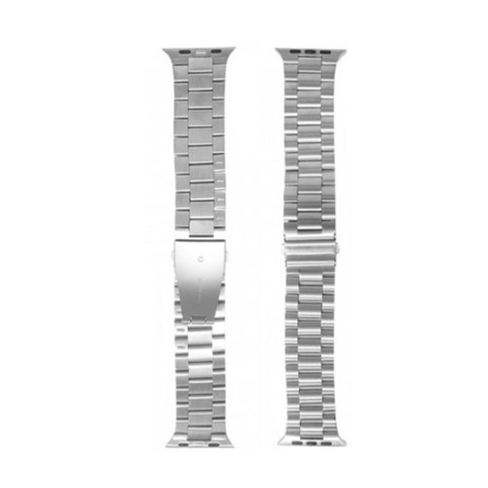 Kit 2 Pulseiras Smartwatch Aço Elos Relogio inteligente esporte