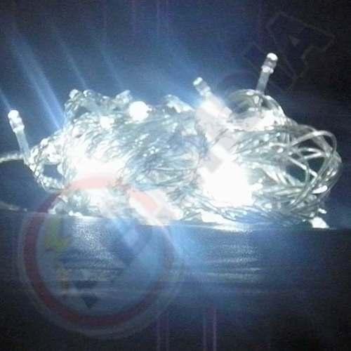 Kit 3 Pisca Pisca 100 Lampada Led Branco Natal Natlino Luz