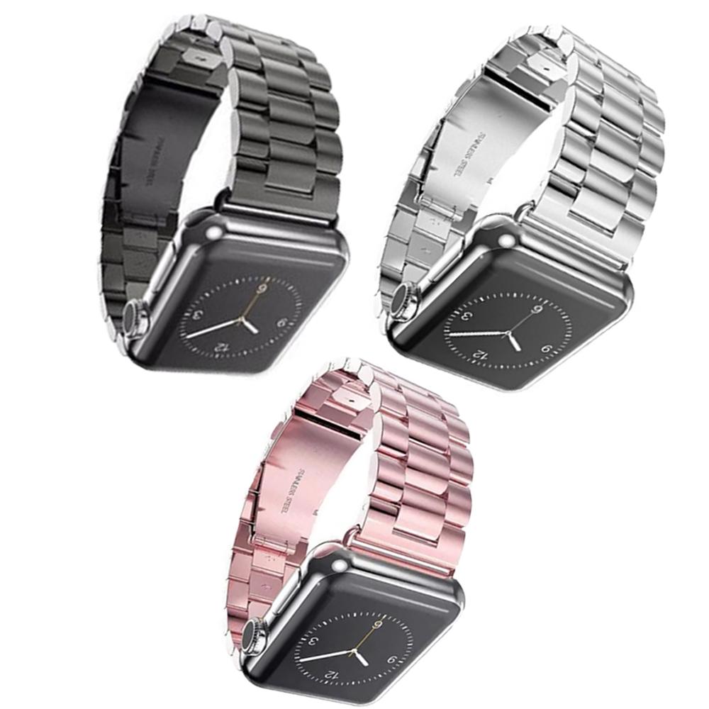 Kit 3 Pulseiras Aço Elos Relogio Smartwatch inteligente Smartband