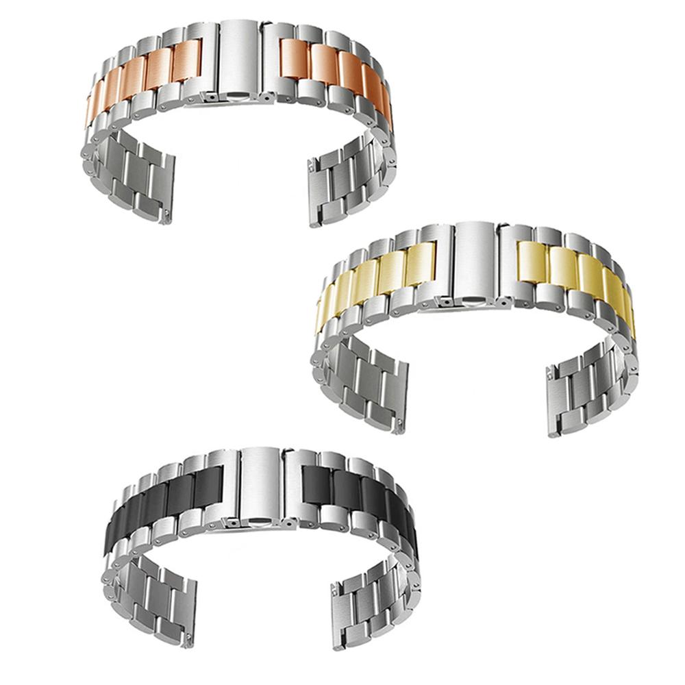 Kit 3 Pulseiras Smartwatch Relogio Inteligente Smartband Inox