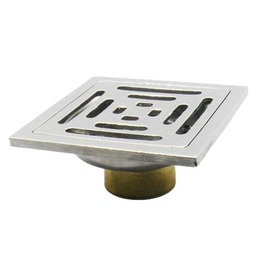 Kit 4 Ralos Inteligente Anti Odor Insetos Aço Inox Banheiro Casa 10X10