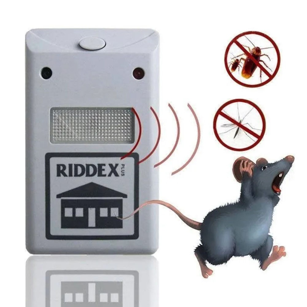 Repelente Eletrico Dengue Mosquitos Barata Rato Insetos Kit 4 Uni