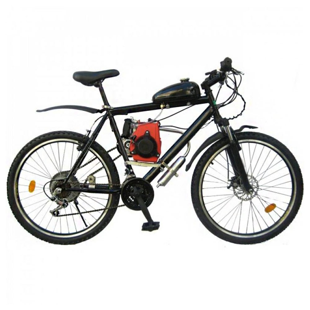 Kit Motor 4 Tempos Bicicleta 49CC Gasolina Motorizada Bicimoto Bike Moto
