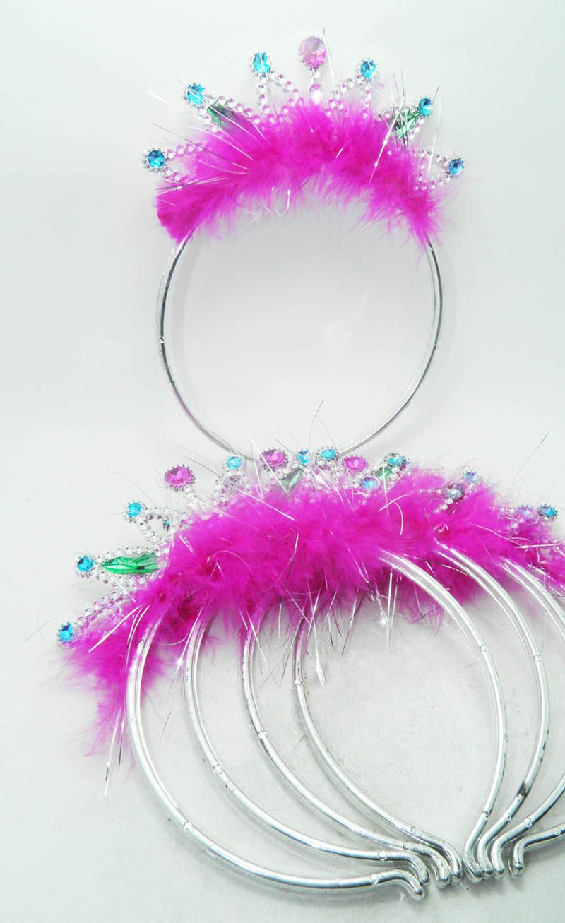 Kit Tiara princesa 5 unid Carnaval Fantasia Evento Aniversario
