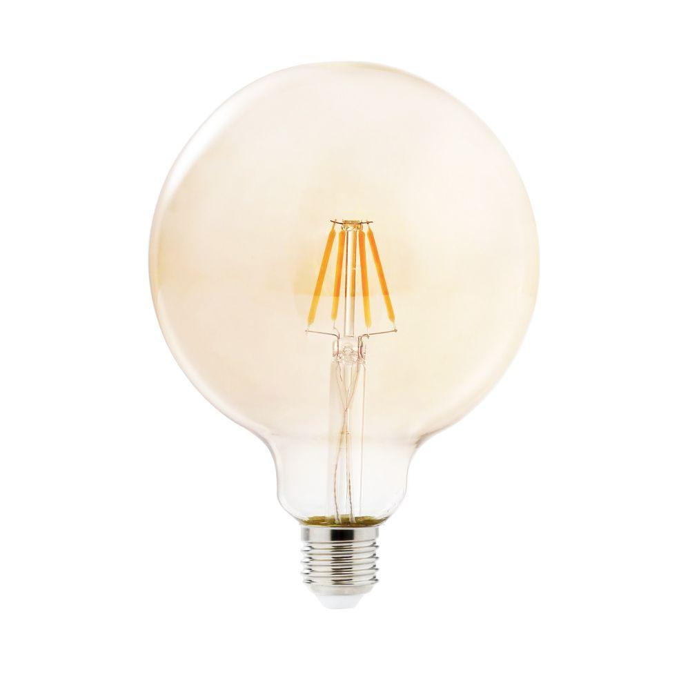 Lampada de Led Multi Filamento Ballon Retro Vintage Bivolt 380lm 30W Iluminação