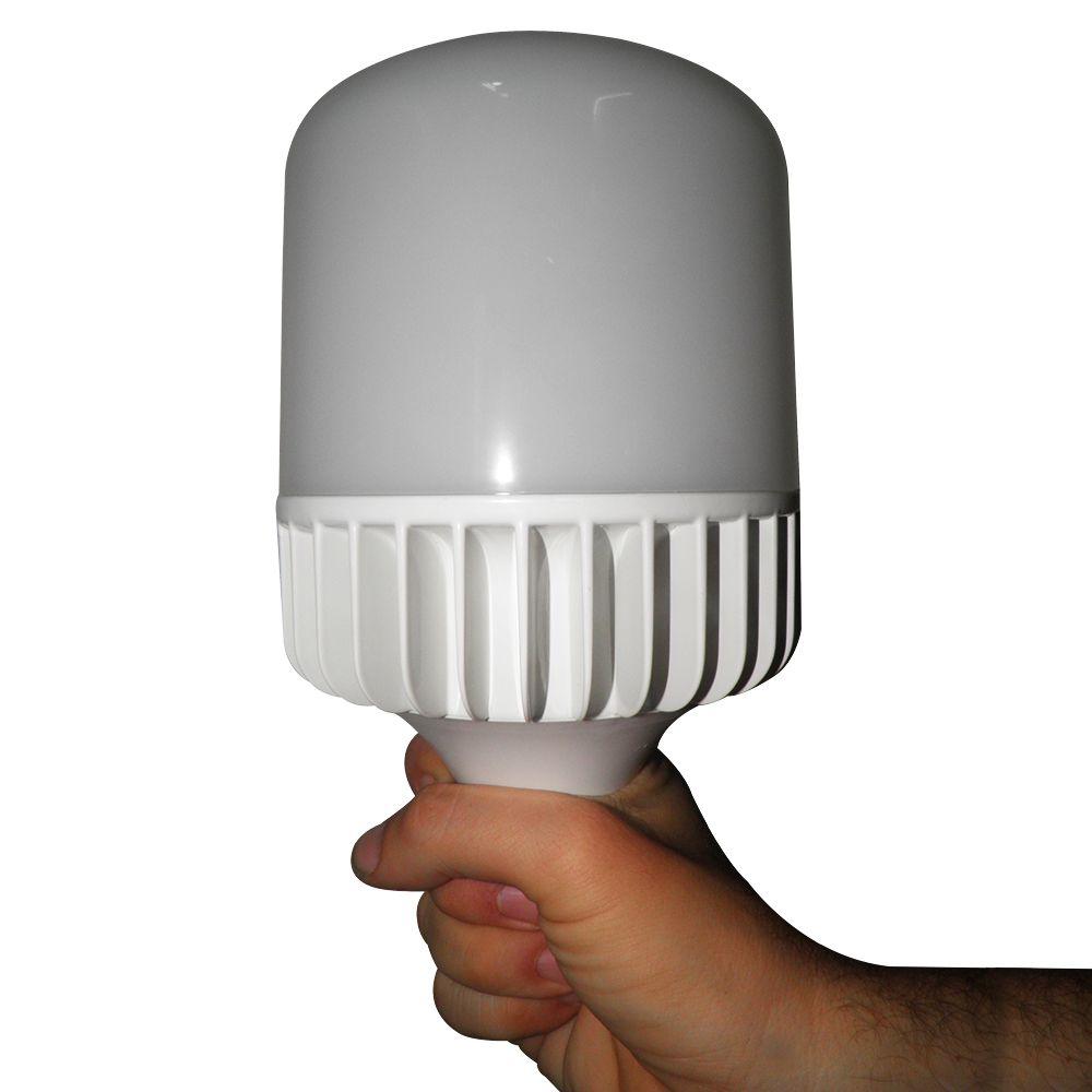 Lampada de Led Super Bulbo 65W Bivolt Iluminação Galpao Loja Comercio