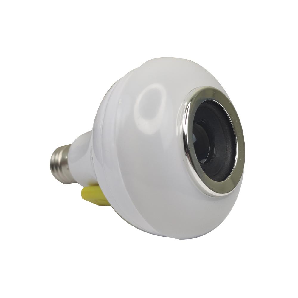 Lampada Led Musical Com Controle Remoto Bluetooth Usb RGB Residencial