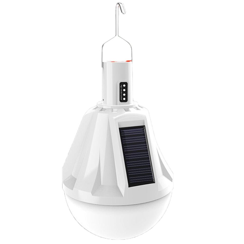 Lampada Solar Emergencia Led Carrega celular Lanterna Camping luz USB