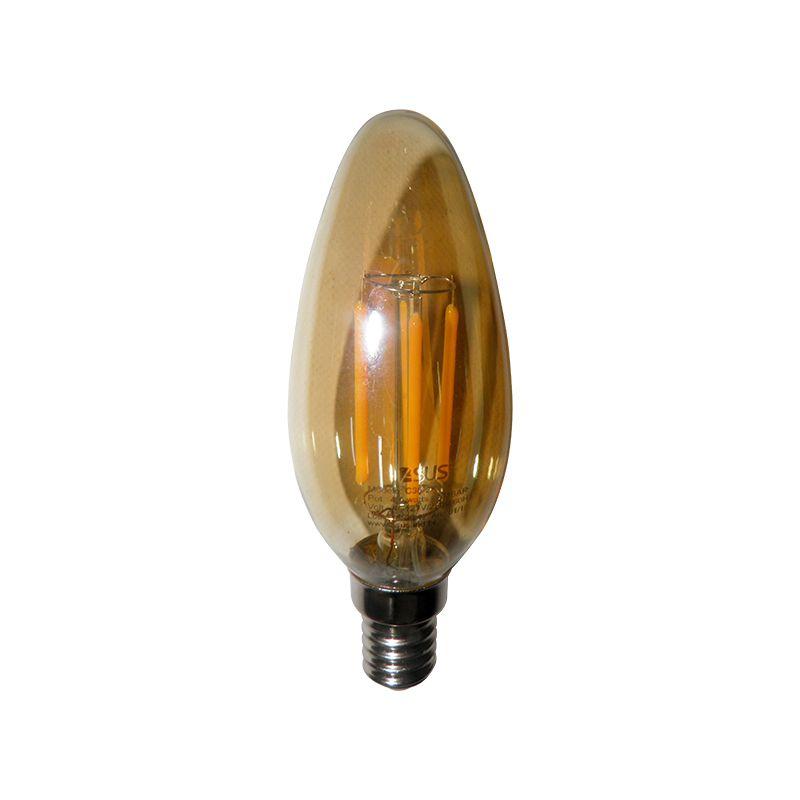 Lampadas de Led Kit 4 Multi Filamento Bivolt 30W Iluminação Retro Vintage