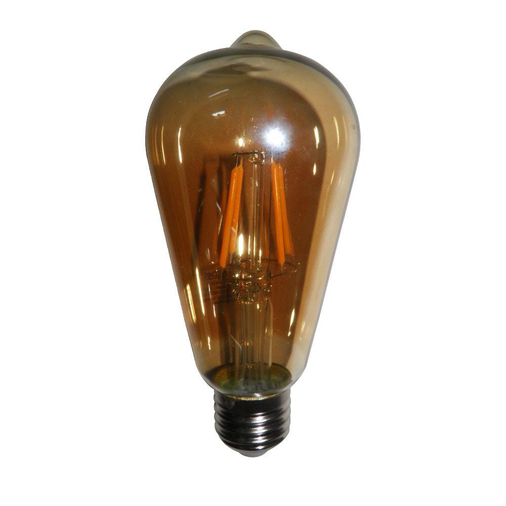 Lampadas de Led Kit 4 Multi Filamento Retro Vintage Bivolt 30W Iluminação