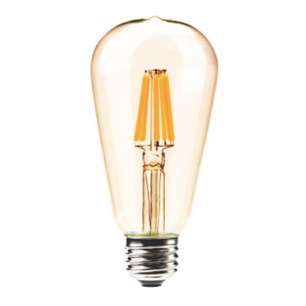 Lampadas de Led Kit 6 Multi Filamento Retro Vintage Bivolt 30W Iluminação