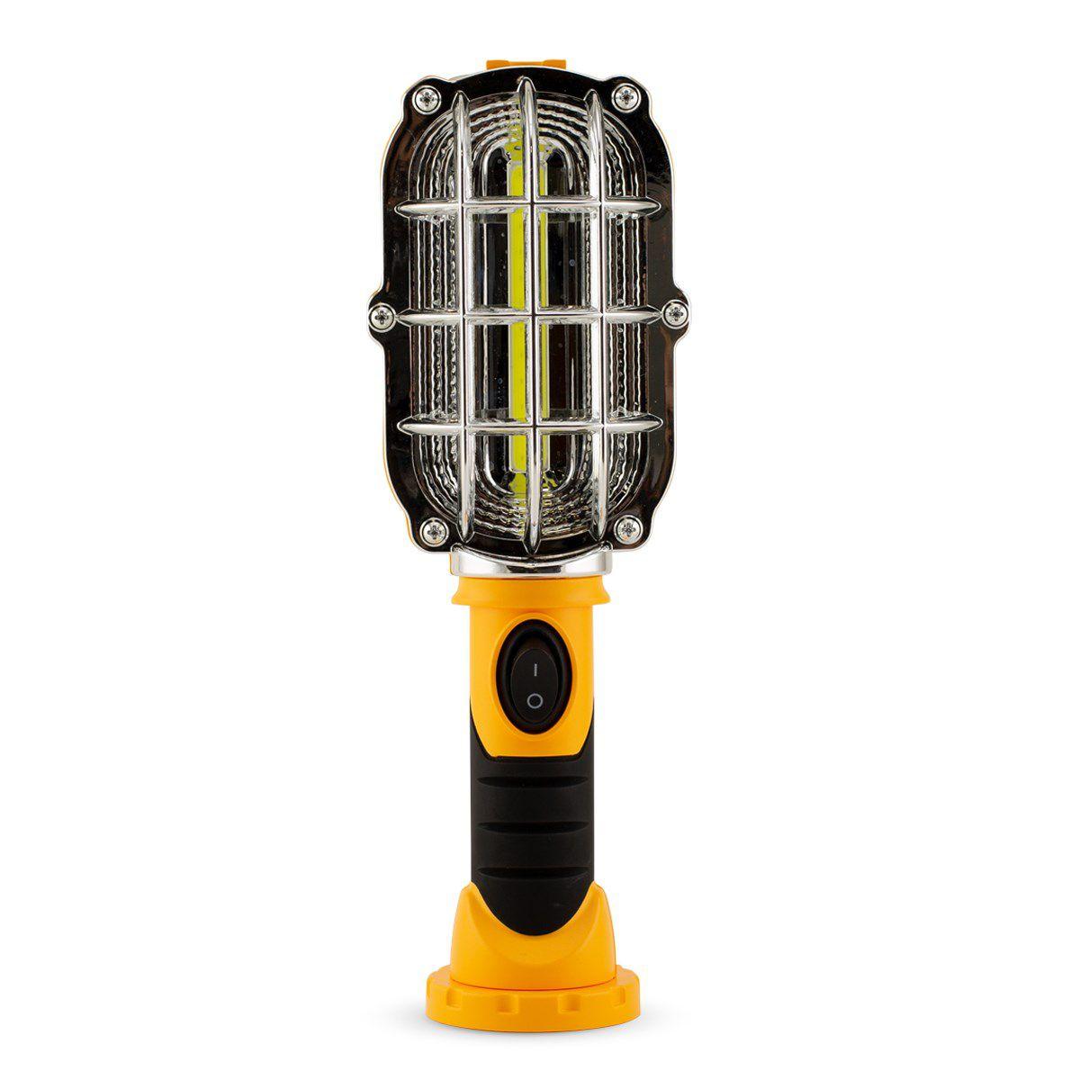 Lanterna Emergencia Mecanico Veicular Luminaria Led Carro Portatil