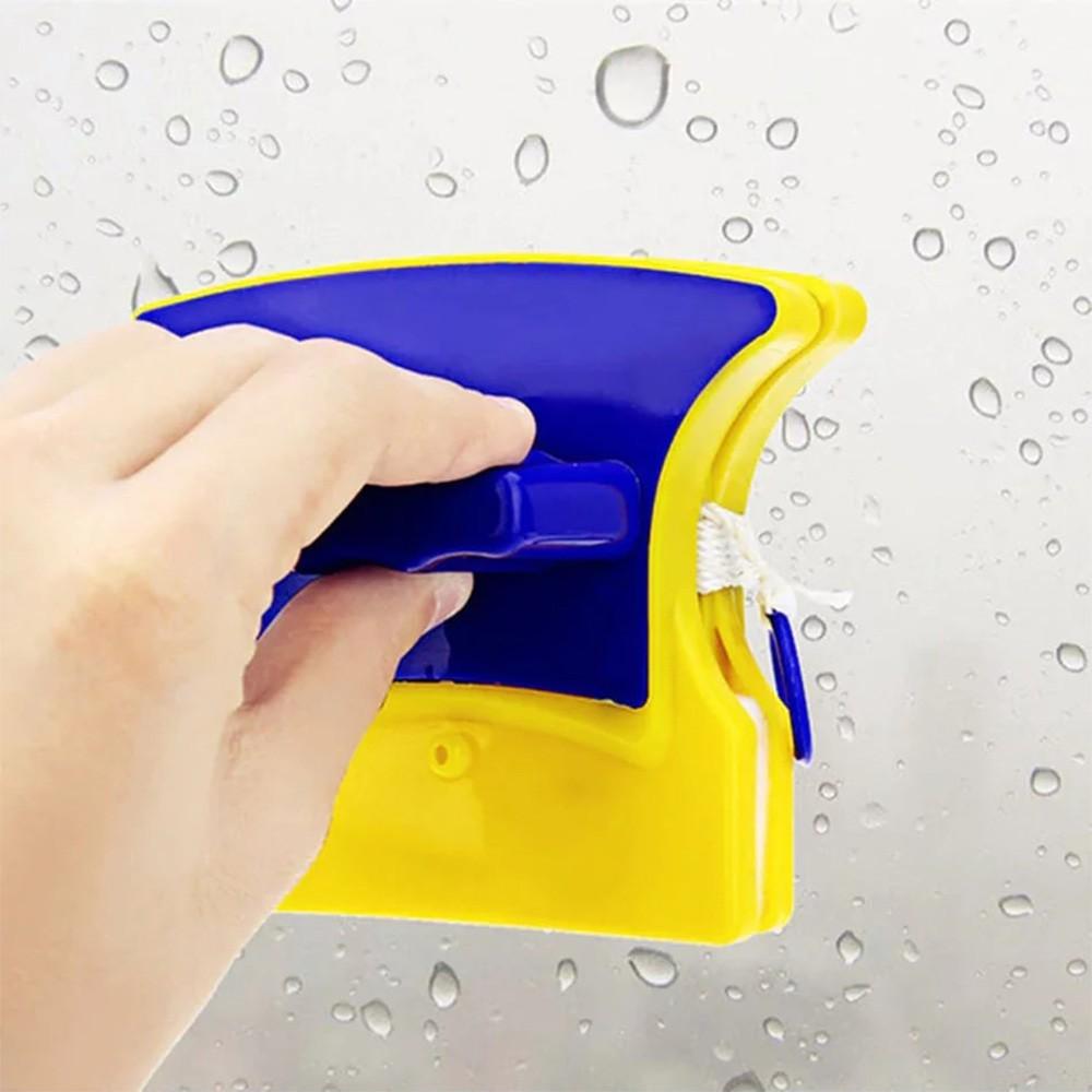 Limpador Magnetico Limpa Vidro Janela Aquario Esquadrias Limpeza